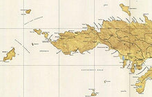 Load image into Gallery viewer, Saint Thomas - 1946 Virgin Islands Topographical Map - Vintage Virgin Islands