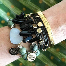 Load image into Gallery viewer, Kinsley Armelle Braid Collection - Raven Bracelet - Vintage Virgin Islands