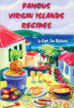 Load image into Gallery viewer, Famous Virgin Island Recipes by Captain Jan Robinson - Vintage Virgin Islands