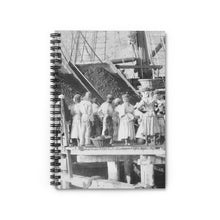 Load image into Gallery viewer, Vintage Hassel Island™  Coaling Women, Danish West Indies, Blank Notebook, Historical Gift, Coal Workers, Queen Coziah, Coaling Women, USVI - Vintage Virgin Islands