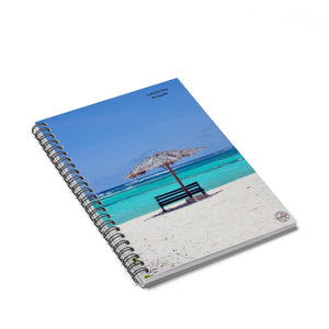 Anegada Beach Notebook - Vintage Virgin Islands