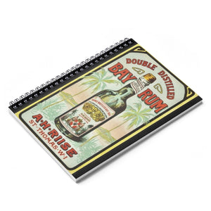 St. Thomas Bay Rum Notebook - Vintage Virgin Islands