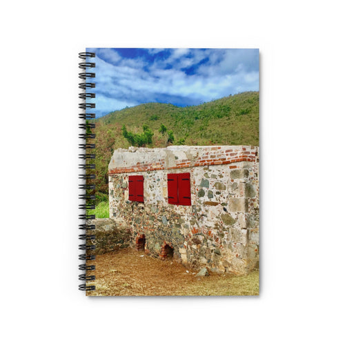 Francis Bay Stone Cottage Notebook