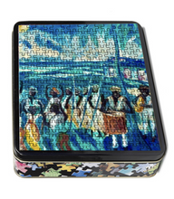 Load image into Gallery viewer, Full Moon Bamboula Dance Puzzle by Emilie Demant Hatt - Vintage Virgin Islands