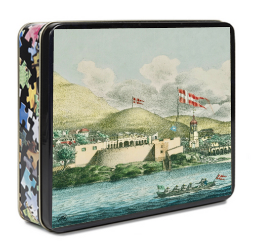 St. Croix Fort Christiansvern Puzzle - Vintage Virgin Islands