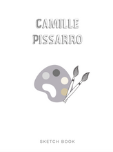 Load image into Gallery viewer, SKETCHBOOK: Camille Pissarro | Blank Drawing Pad for Creativity