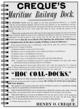 Load image into Gallery viewer, Creque's Maritime Railway Notebook - Vintage Virgin Islands