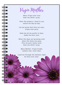 Virgin Mother Poem Notebook - Vintage Virgin Islands