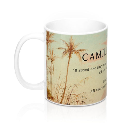 Camille Pissarro ~ A Creek In St. Thomas Inspirational Mug 11Oz
