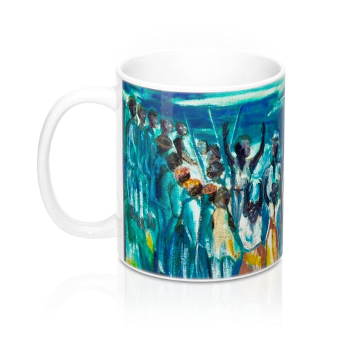 Bamboula Dance Mug by Emilie Demant Hatt - Vintage Virgin Islands