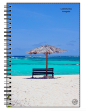 Load image into Gallery viewer, Anegada Beach Notebook - Vintage Virgin Islands