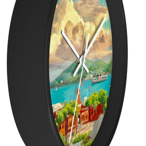 Vintage St. Thomas Wall Clock - Vintage Virgin Islands