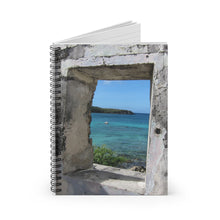 Load image into Gallery viewer, Historic Lamesure Estate  Spiral Notebook  Virgin Islands National Park  Us Virgin Islands, Historical Gifts, St. John USVI, Stationary Gift - Vintage Virgin Islands