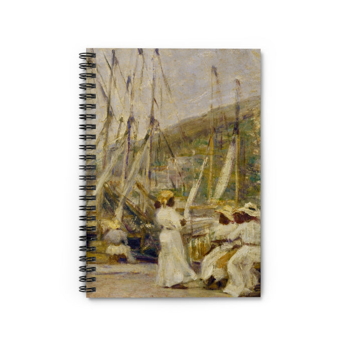 Vintage St Thomas Wharf by Hugo Larsen Notebook