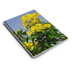 Yellow Cedar Notebook - Vintage Virgin Islands
