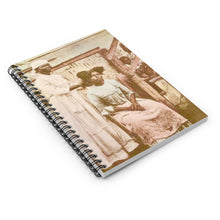 Load image into Gallery viewer, Vintage St Croix™  Native Women Of The Islands  Spiral Notebook  Journal Daybook Notebook Gift Idea - Vintage Virgin Islands