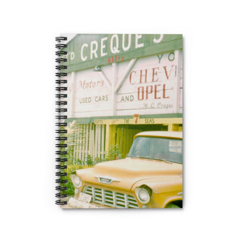 Creque's Alley Vintage Notebook - Vintage Virgin Islands