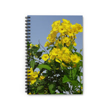 Load image into Gallery viewer, Yellow Cedar Notebook - Vintage Virgin Islands