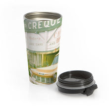 Load image into Gallery viewer, Creque's Alley ~ Stainless Steel Travel Mug - Vintage Virgin Islands