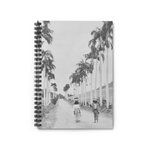 St. Croix Palm Tree Notebook - Vintage Virgin Islands