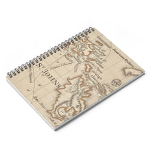 Load image into Gallery viewer, St. John Map Notebook - Vintage Virgin Islands