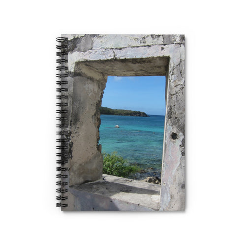 Historic Lamesure Estate  Spiral Notebook  Virgin Islands National Park  Us Virgin Islands, Historical Gifts, St. John USVI, Stationary Gift