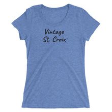 Load image into Gallery viewer, Vintage St. Croix ™ Ladies' Short-Sleeve T-Shirt - Vintage Virgin Islands