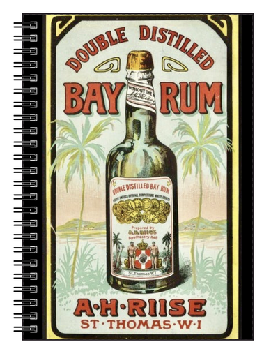 St. Thomas Bay Rum Notebook Paper Products