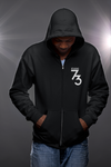 Studio 73 Zip Up Hoodie (White Logo)