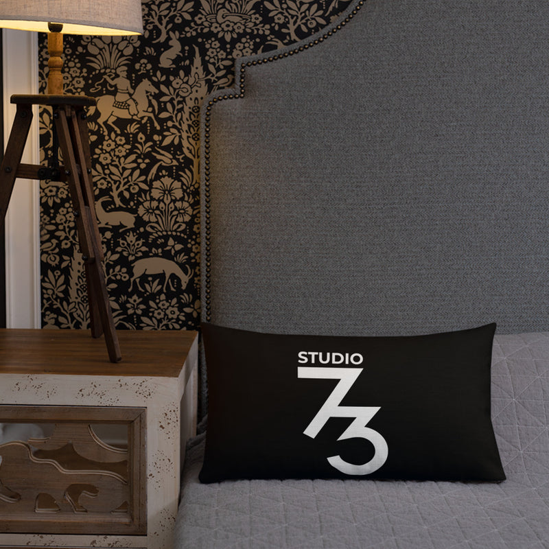 Black Studio Pillow