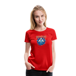 Women's Time Spiral T-Shirt - red