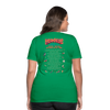 Women's Temporal Tweakers Intergalactic Tour T-Shirt - kelly green