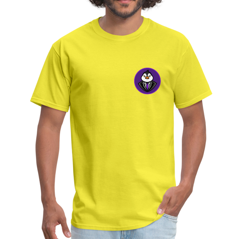 Men's Avatar T-Shirt - yellow