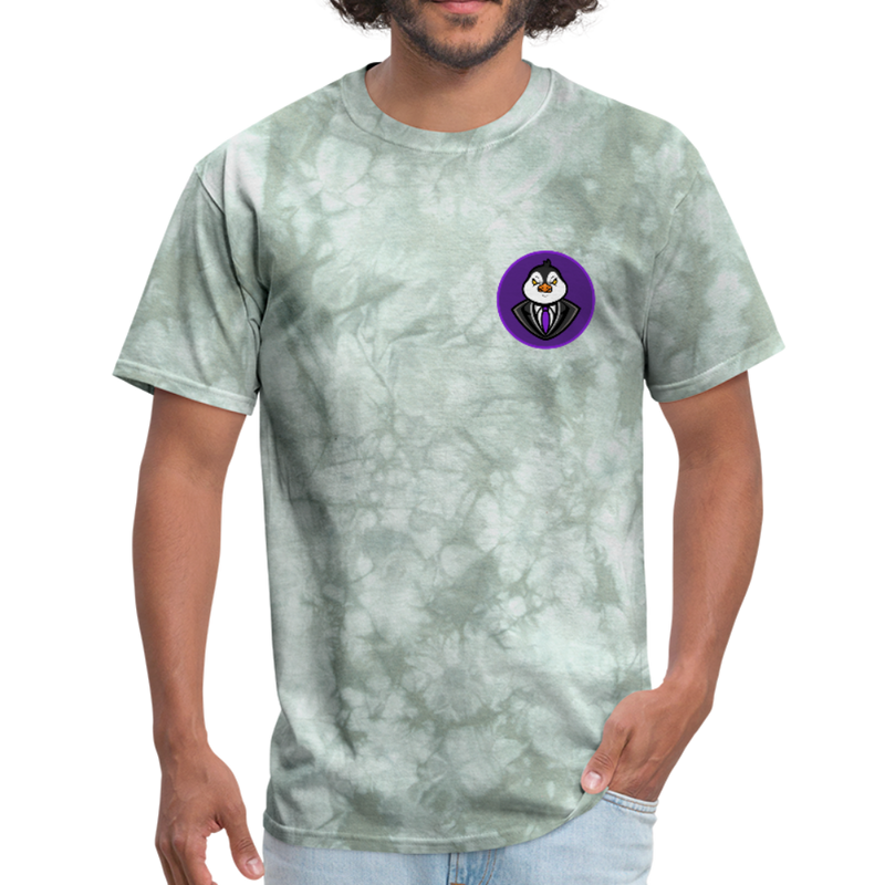 Men's Avatar T-Shirt - military green tie dye