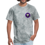 Men's Avatar T-Shirt - grey tie dye