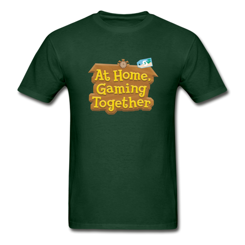 At Home Gaming Gildan Ultra Cotton Adult T-Shirt - forest green
