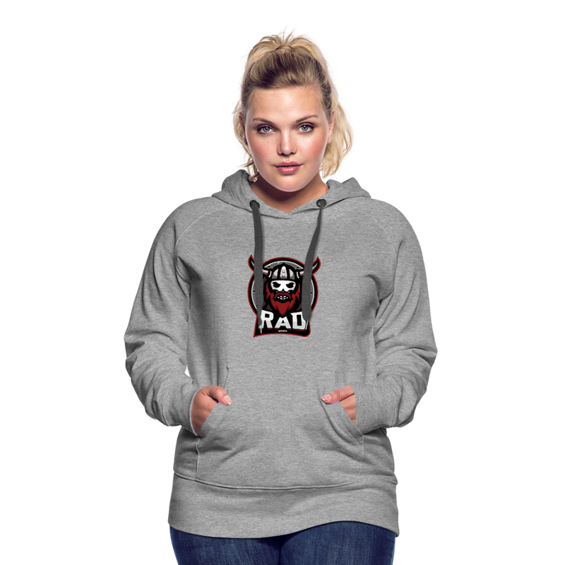 Women's RAD Hoodie - heather gray