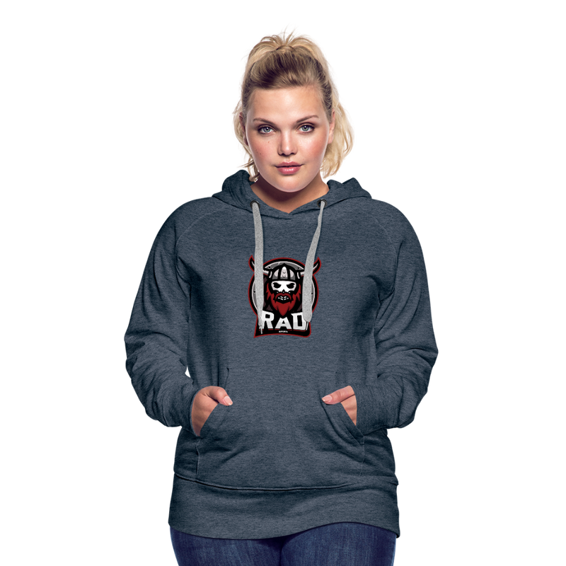 Women's RAD Hoodie - heather denim