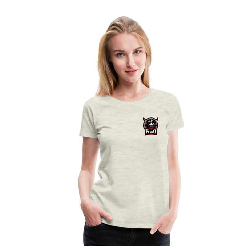 Women's RAD T-Shirt - heather oatmeal
