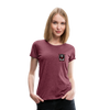 Women's RAD T-Shirt - heather burgundy
