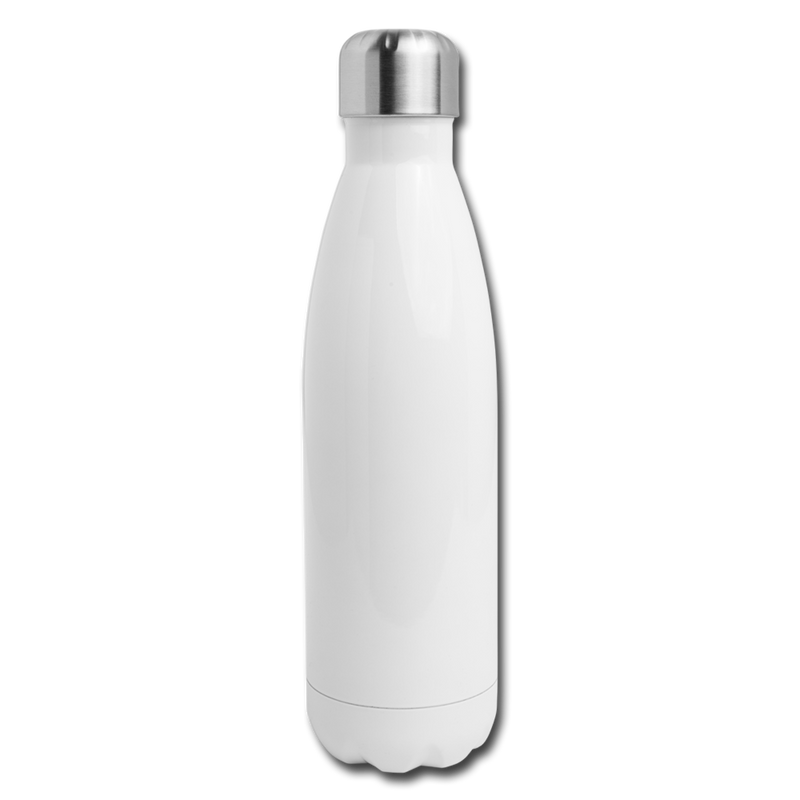 Custom Insulated Stainless Steel Water Bottle - white