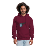 Private - Not for Public (Tristan Hoodie) - burgundy