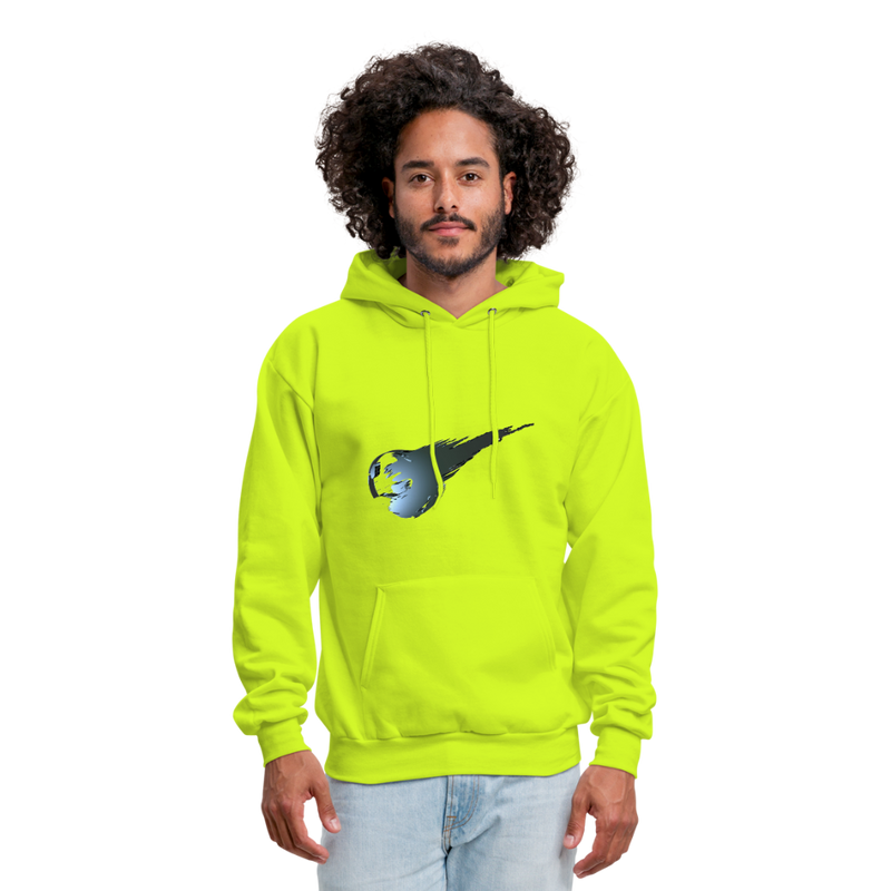 Private - Not for Public (Tristan Hoodie) - safety green