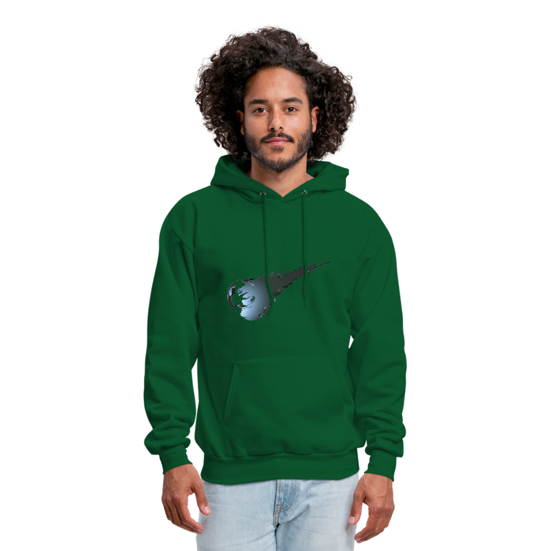 Private - Not for Public (Tristan Hoodie) - forest green