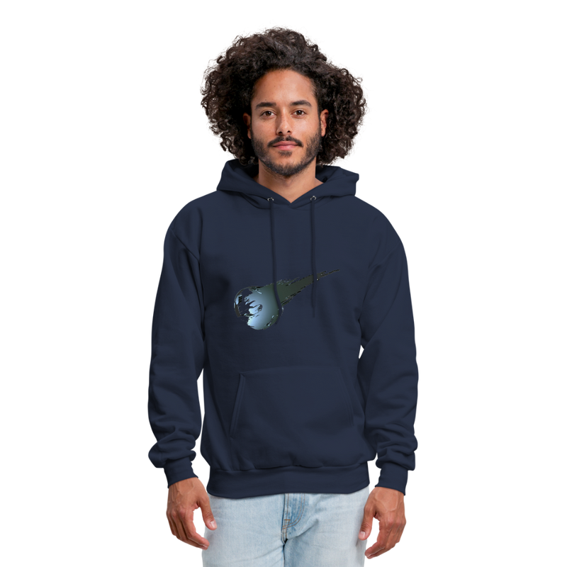 Final Fantasy VII Tribute Men's Hoodie - navy