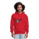 Final Fantasy VII Tribute Men's Hoodie - red