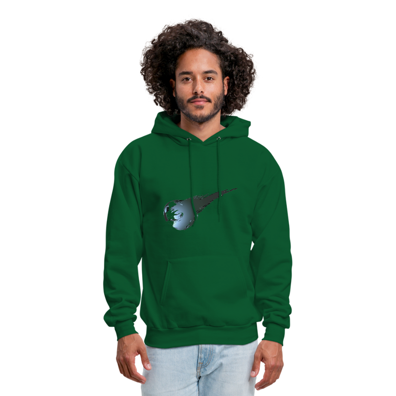 Final Fantasy VII Tribute Men's Hoodie - forest green