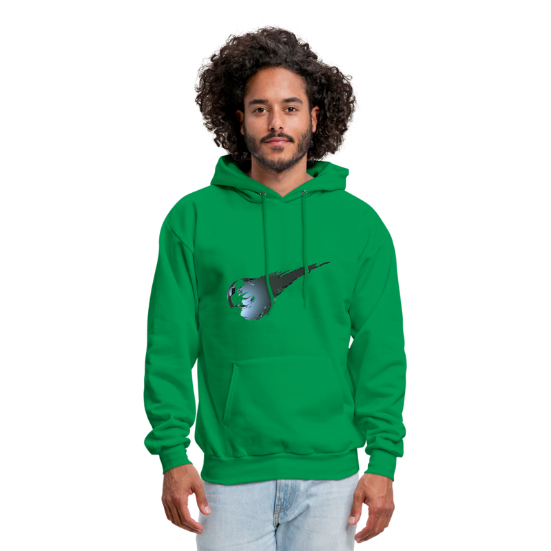 Final Fantasy VII Tribute Men's Hoodie - kelly green