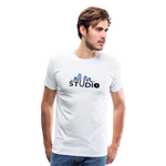 Men's S73 Color Logo T-Shirt - white