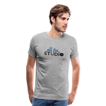 Men's S73 Color Logo T-Shirt - heather gray